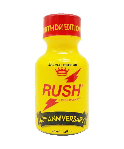 Poppers RUSH 40.Yıl Serisi 40 ML Özel Şişe