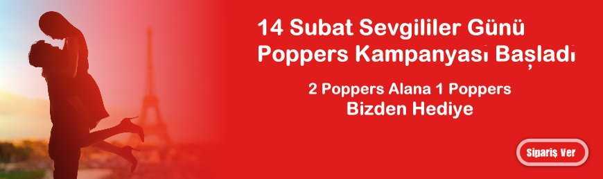 14 Şubat Sevgililer Günü Poppers Kampanyası