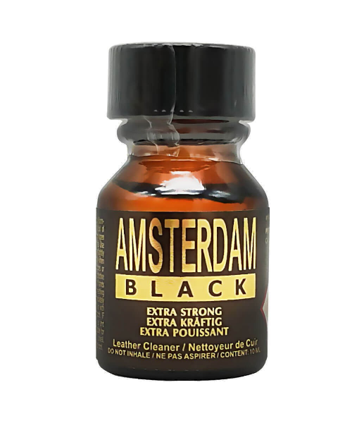 Poppers Amsterdam Black Extra Strong 10 ML