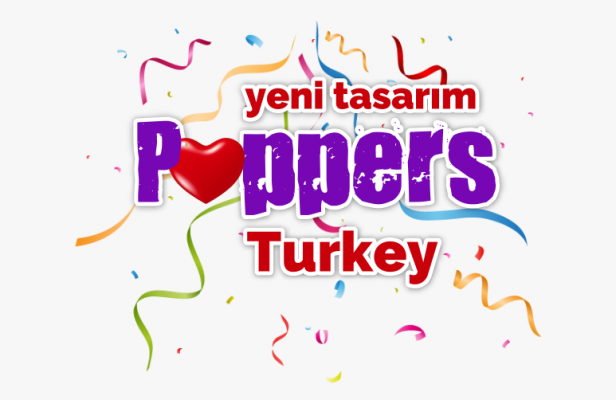 Poppers Turkey Yeni Tasarım